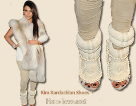 Zapatos de Kim Kaedashian