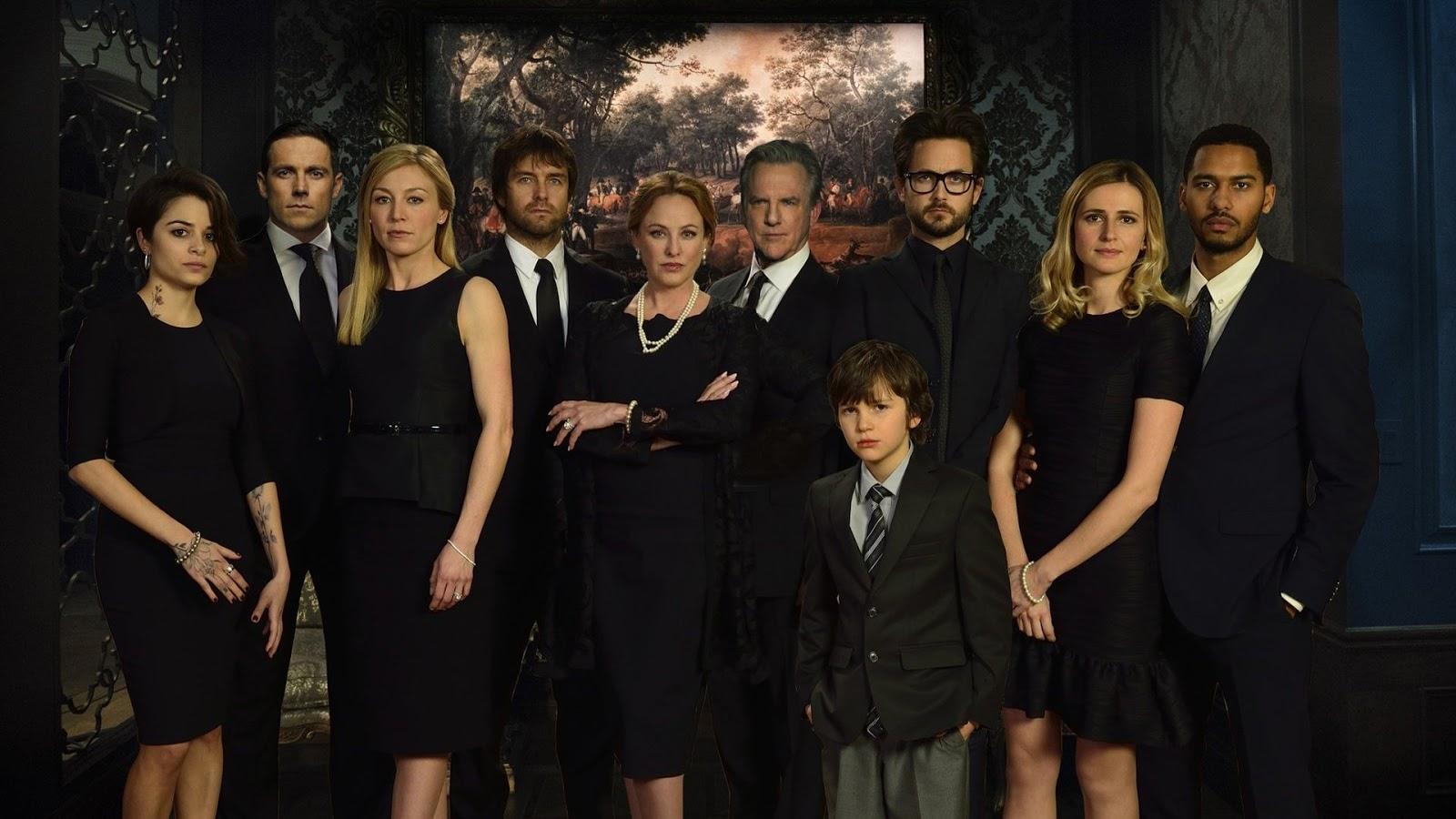 El reparto de American Gothic en una imagen promocional
