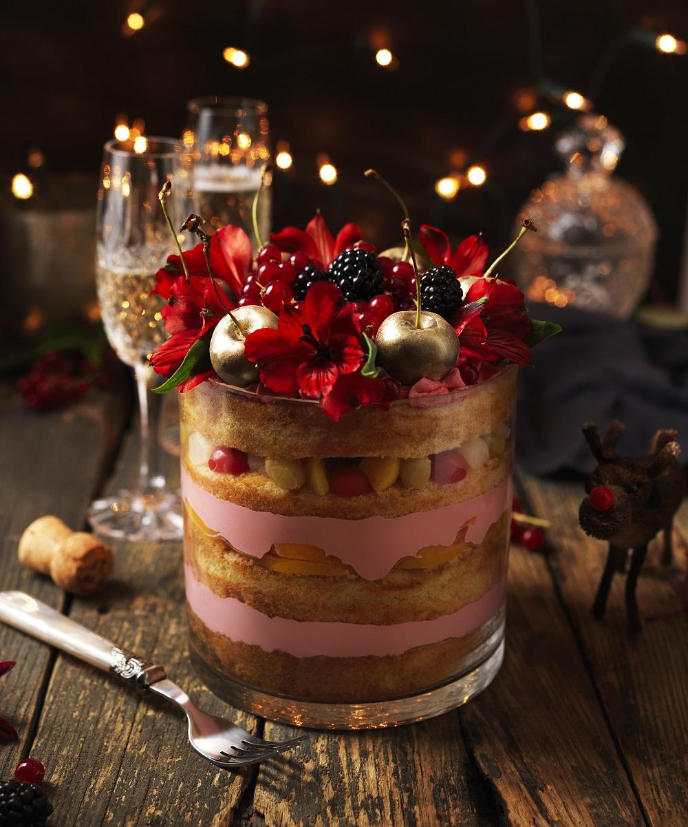 Lily Vanilli's Festive Trifle