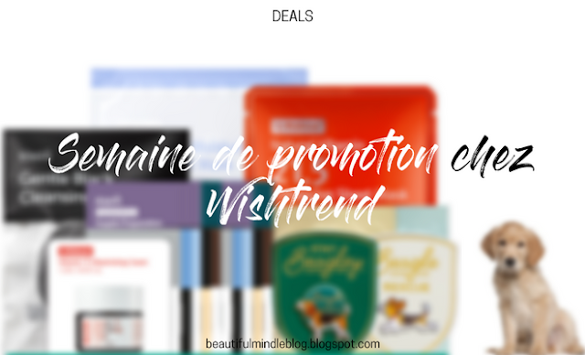 wishtrend promo promotion bon plan coupon cadeau gift produits soin k-beauty skincare product promoweek creulty-free cleansing nettoyage masks masques sheet mask stay beagley