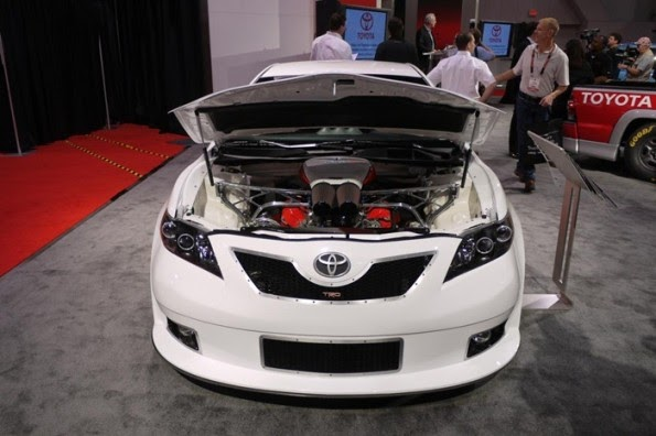 Toyota Camry Nascar Edition Front View X on Toyota Camry 2 Engine Modifications