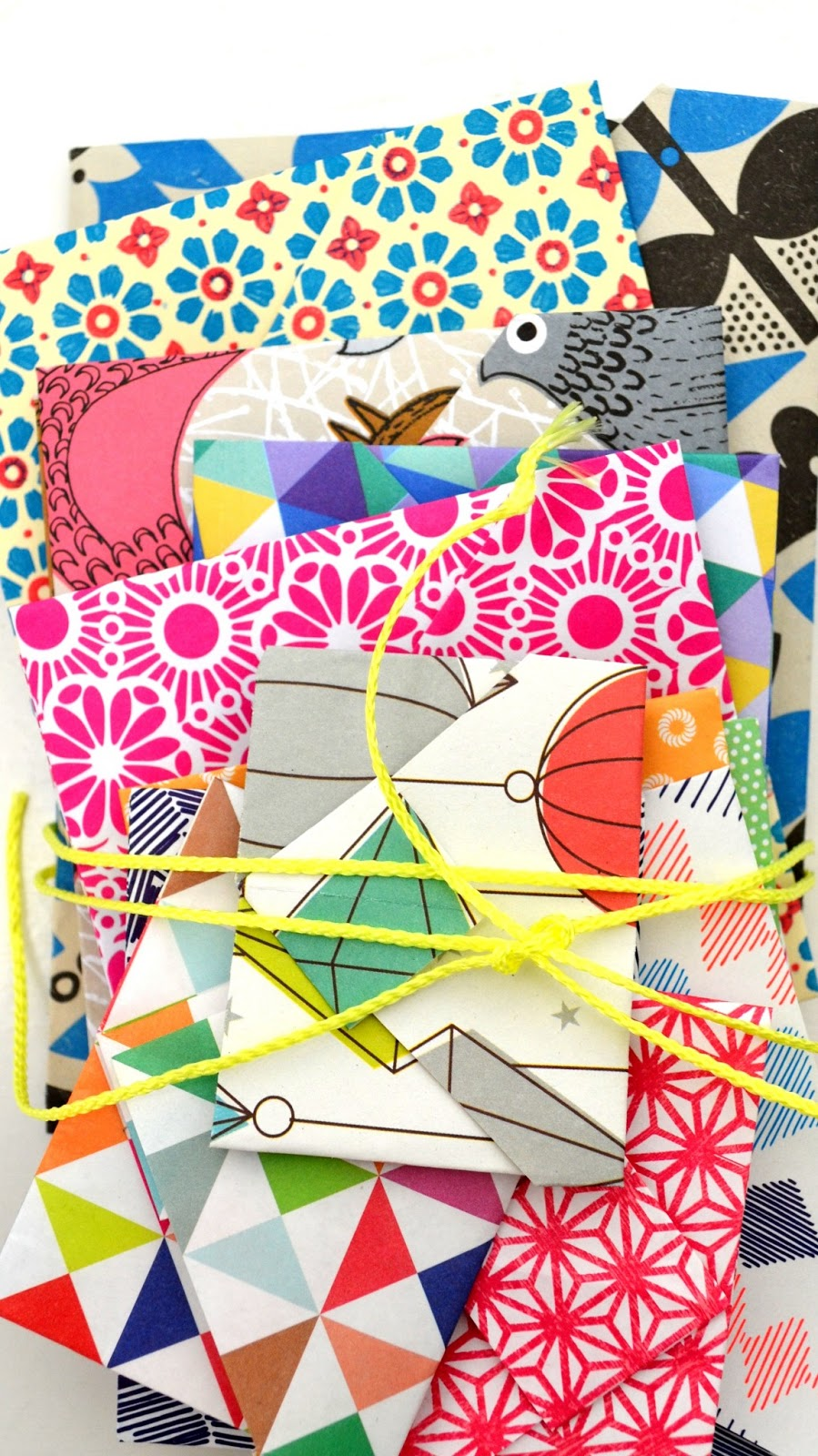 ingthings diy little origami enveloppes. Black Bedroom Furniture Sets. Home Design Ideas
