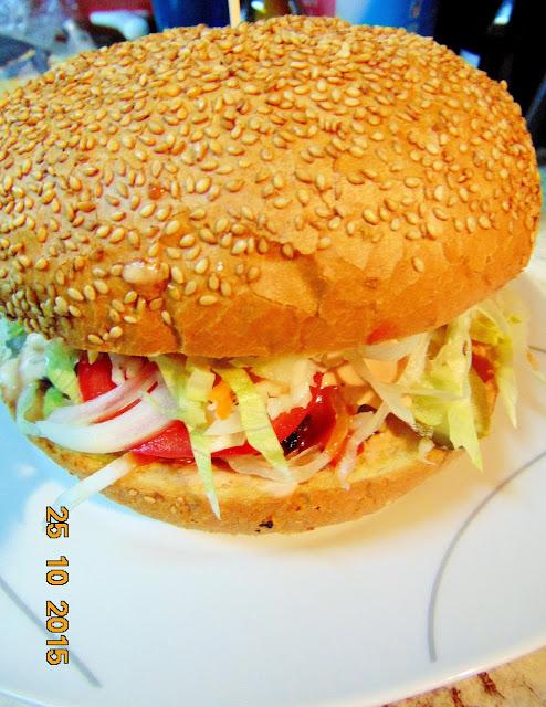 Hamburgery GIGANTY z wołowiny