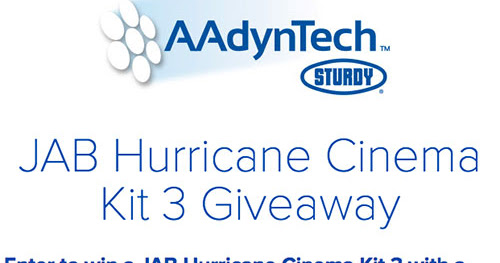 Here's your chance to win an AAdynTech JAB Hurricane Kit 3!