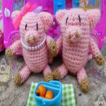 patron gratis cerdo amigurumi