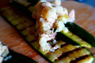 ricetta involtini zucchine light