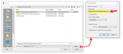创建新的Revit Central文件-两种结果不同的方法插图