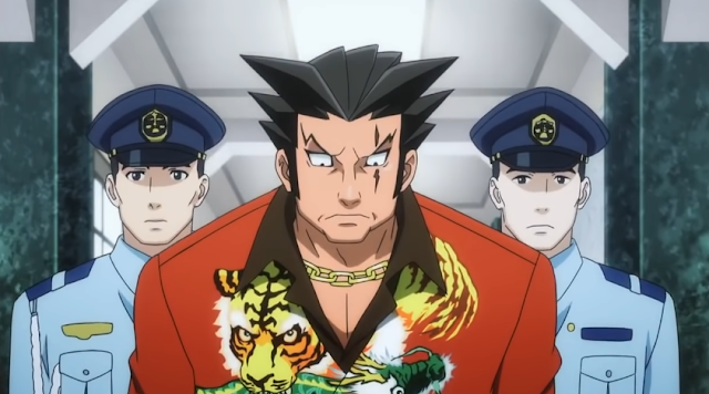 Furio Tigre arrested police Ace Attorney anime