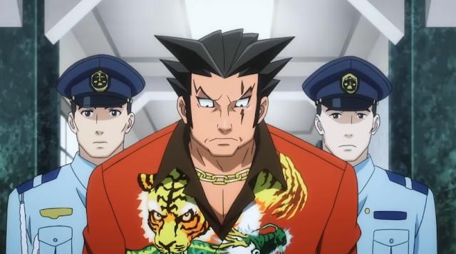 Furio Tigre arrested police Ace Attorney anime