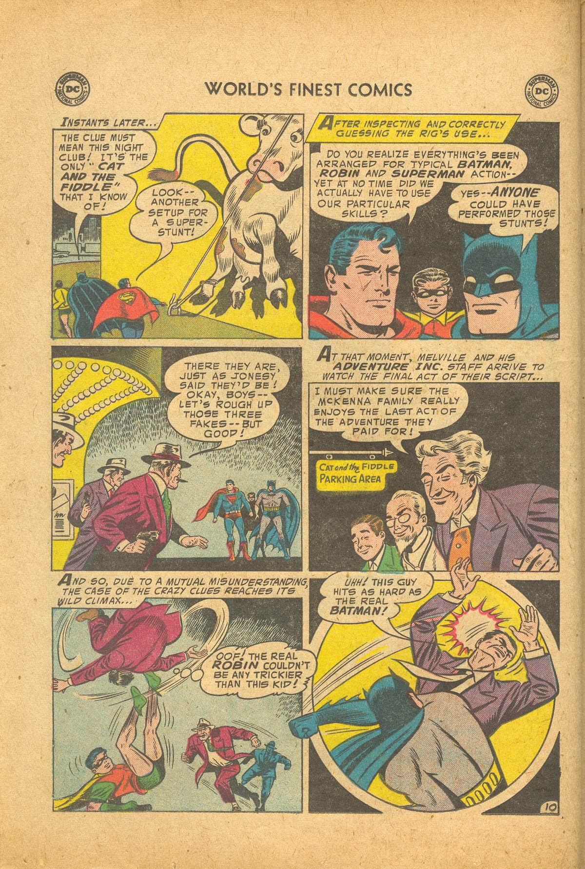 Read online World's Finest Comics comic -  Issue #83 - 12