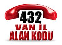 0432 Van telefon alan kodu