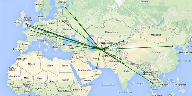 Türkmenistan Havayolları İstanbul Ofisi