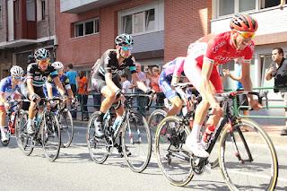 David López cruza por Retuerto en el grupo de escapados en la duodécima etapa de La Vuelta a España