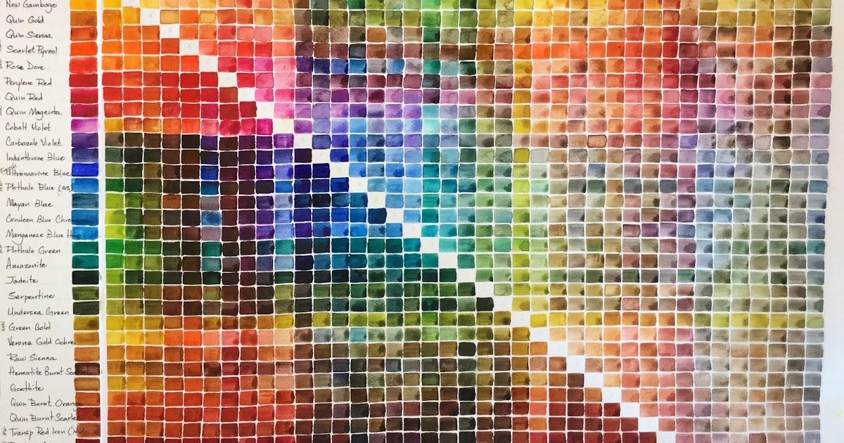 d5c7abbfaa2d Pigment and Fiber  Daniel Smith+ 31-color palette