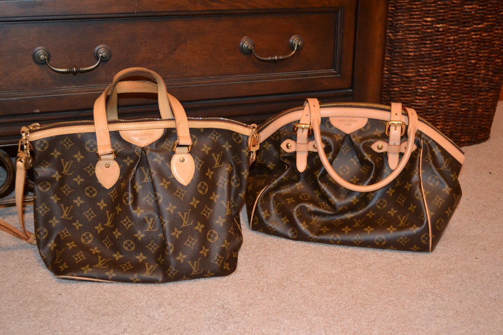Louis Vuitton Tivoli Vs Palermo Mom S Got A Brand New Bag Louis Vuitton Comparison Review