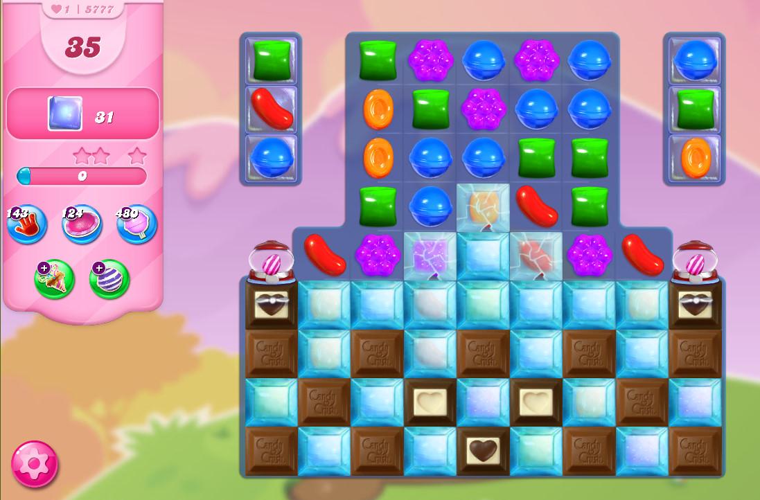 Candy Crush Saga level 5777