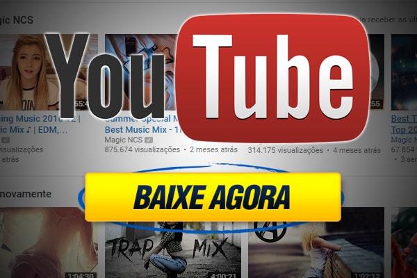baixe vídeos do youtube sem programas