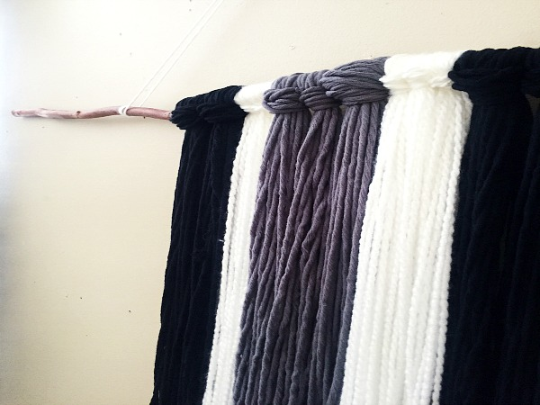 DIY Yarn Wall Decor