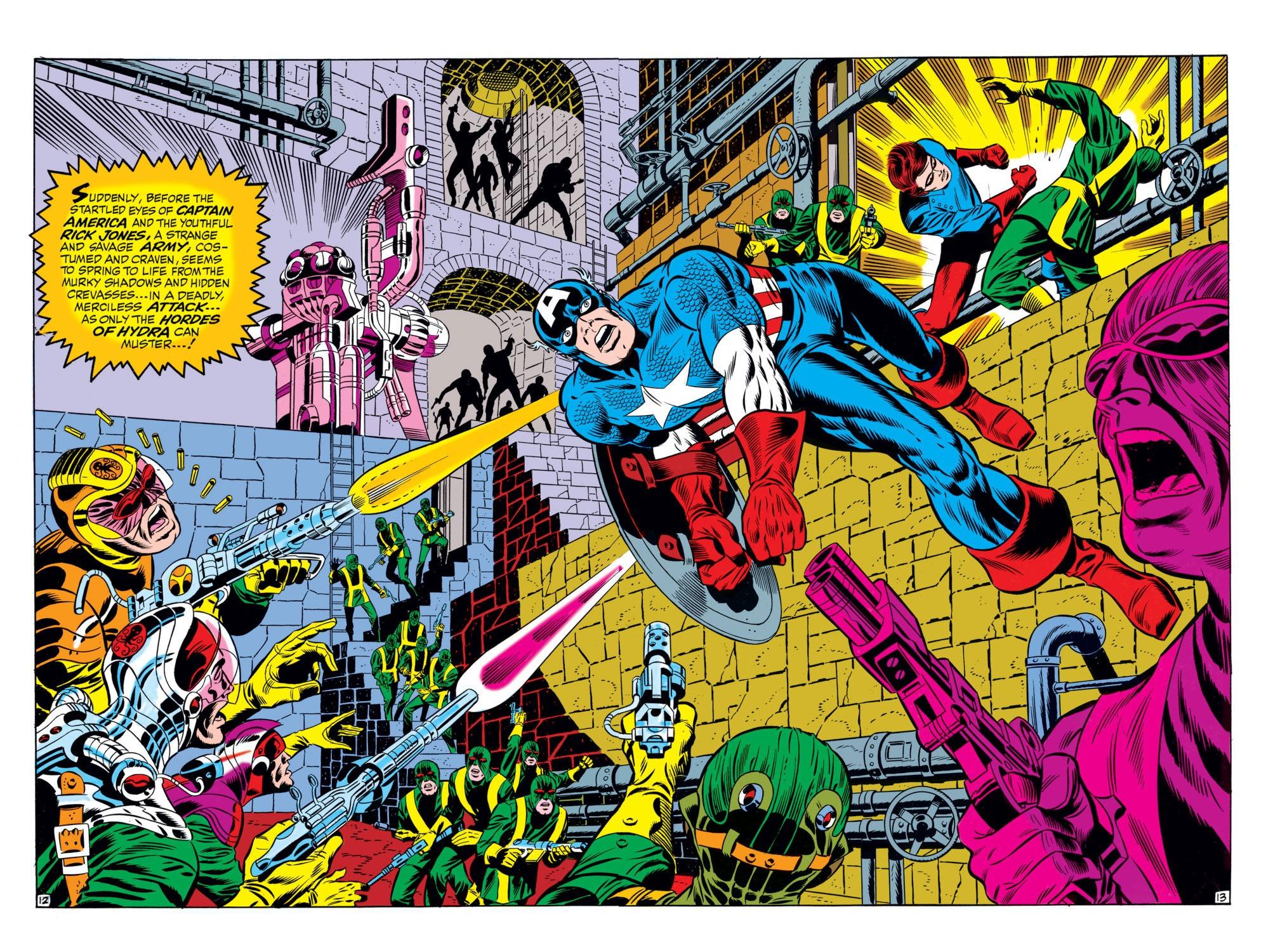 Read online Captain America (1968) comic -  Issue #110 - 13