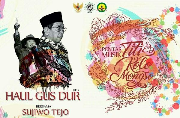 Haul Gus Dur ke-7, Sujiwo Tejo : Kepekaan adalah Sumber Inspirasi