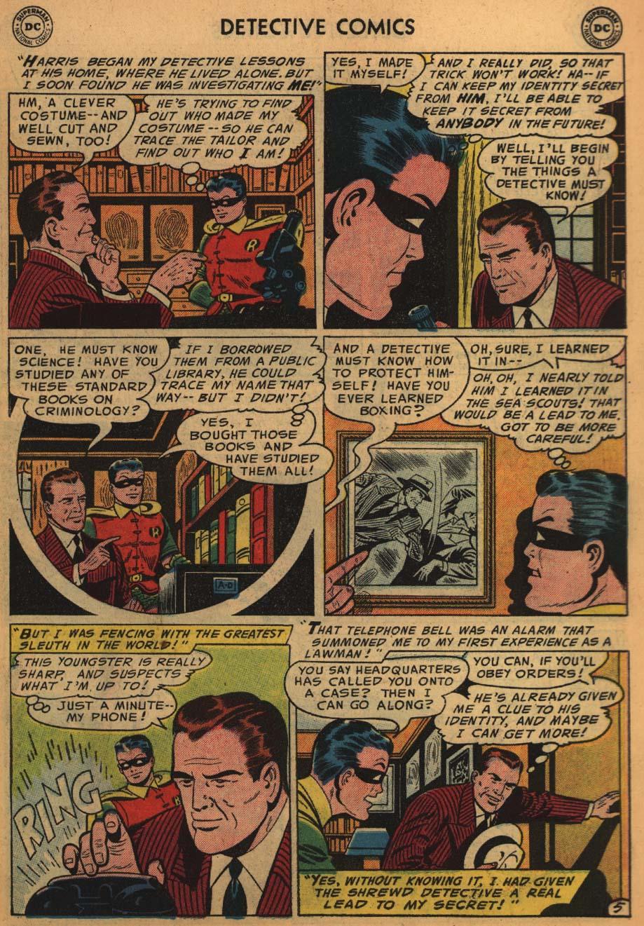 Read online Detective Comics (1937) comic -  Issue #226 - 7