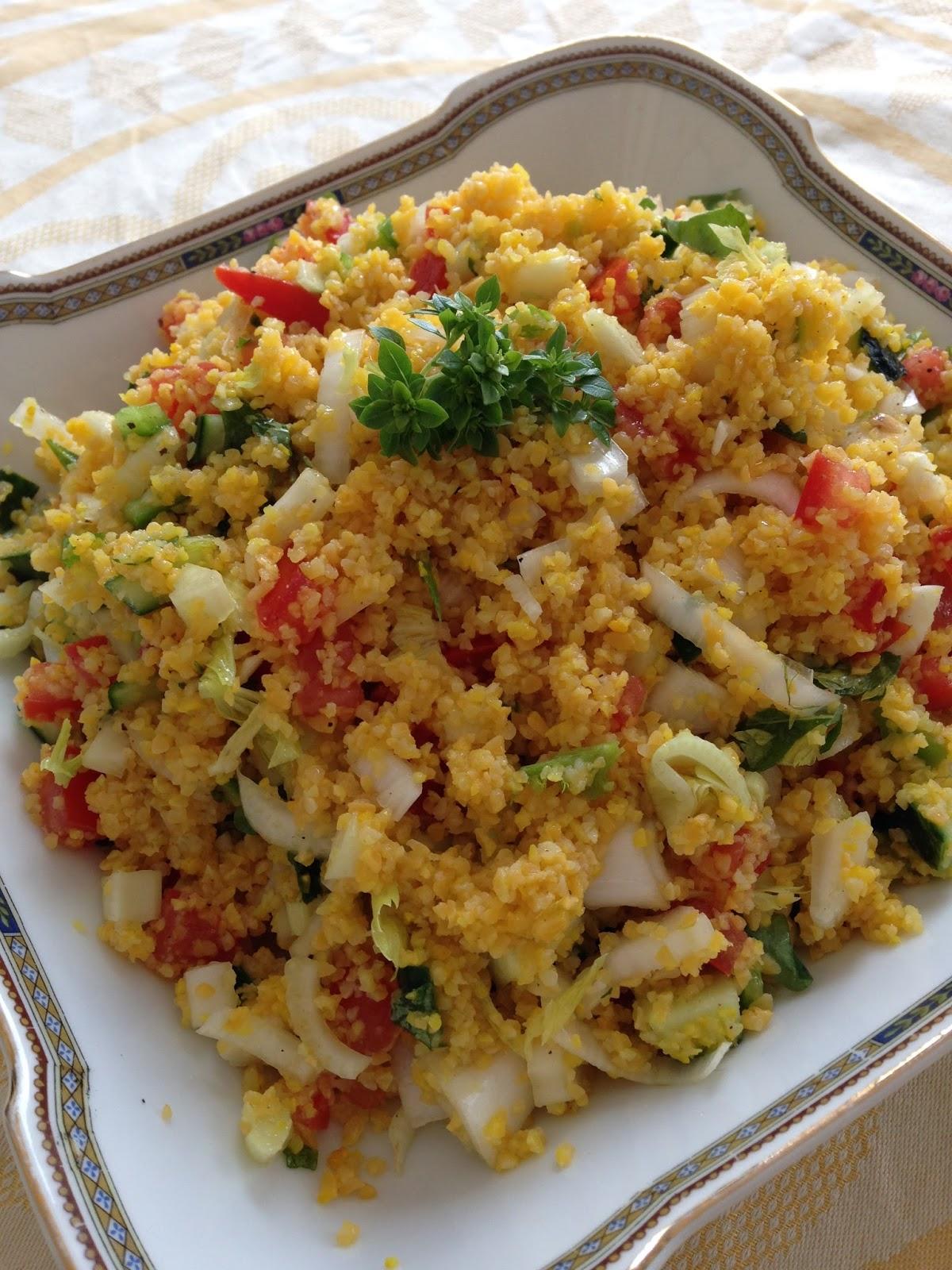 Estremamente La mia cucina persiana: Cous Cous freddo con Verdure Crude WL98