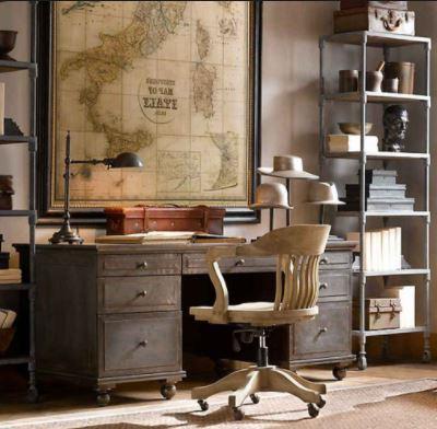 restoration hardware office desk