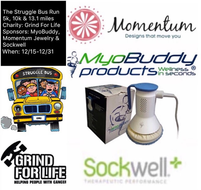 the struggle bus run 5k 10k half marathon the virtual race calendar school bus momentum jewelry myobuddy grind for life sockwell compression socks
