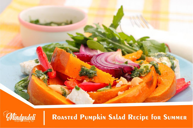 Roasted Pumpkin Salad Recipe for Summer