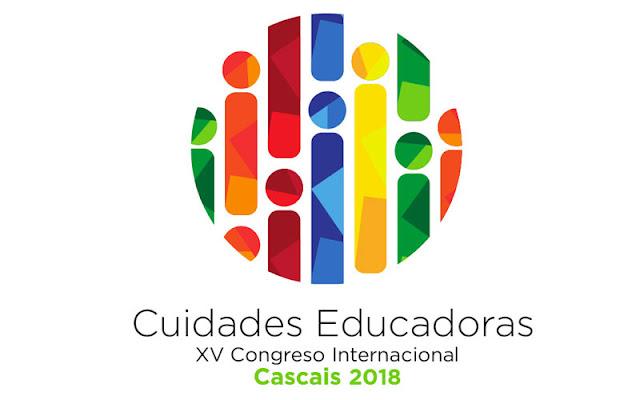 Logotipo XV congreso de ciudades educadoras Cascais 2018