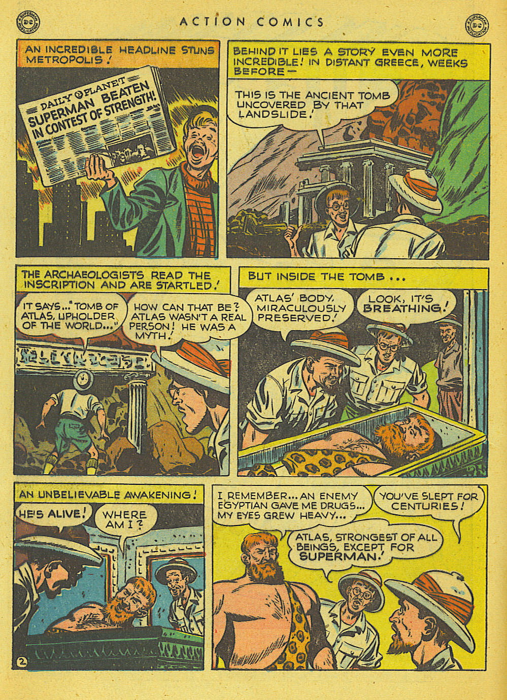 Action Comics (1938) 121 Page 2