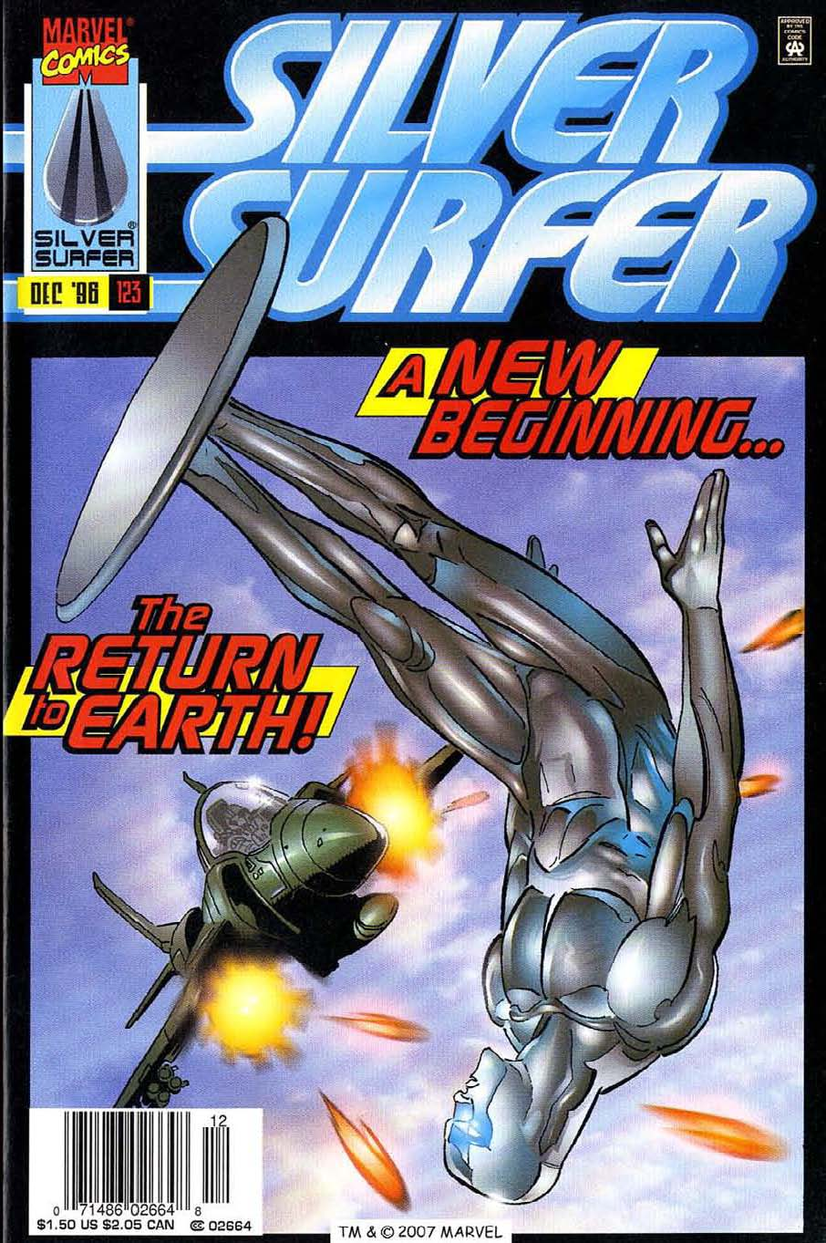 Read online Silver Surfer (1987) comic -  Issue #123 - 1