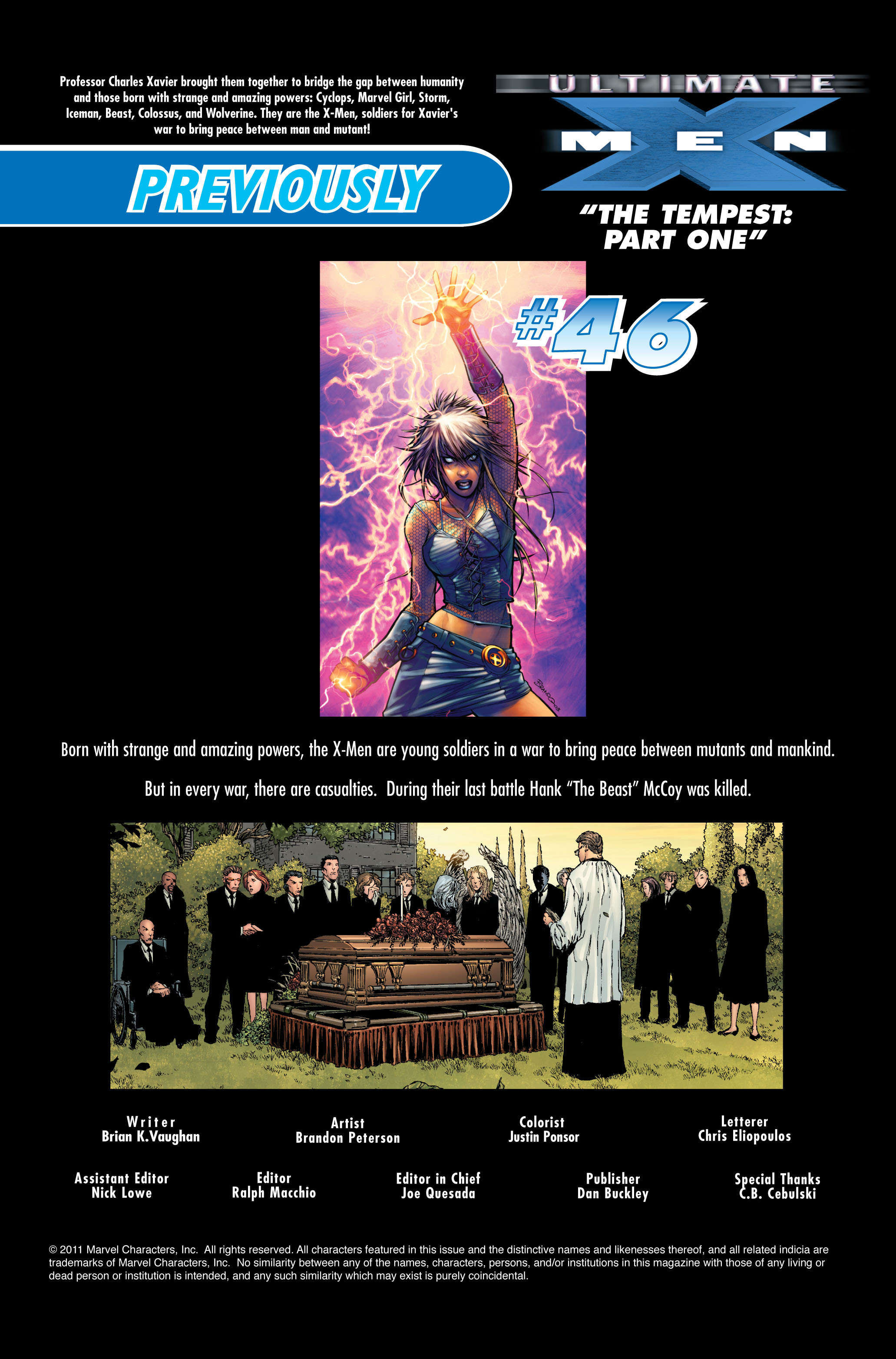 Read online Ultimate X-Men comic -  Issue #46 - 2