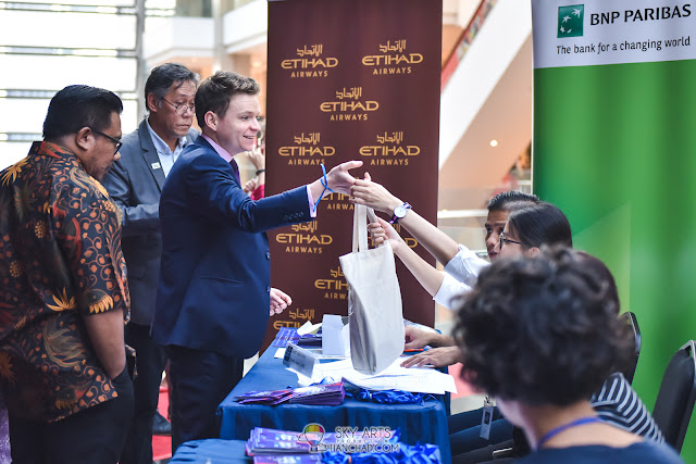 Le French Film Festival 2018 Launching at GSC Pavilion KL, Malaysia - Registration Goodies Bag