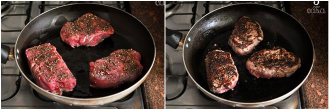 como fazer steak au poivre