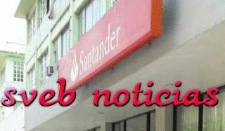 Asaltan sucursal de Banco Santander en el centro del puerto de Veracruz
