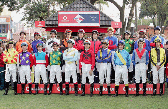 Jockeys - Vodacom Durban July