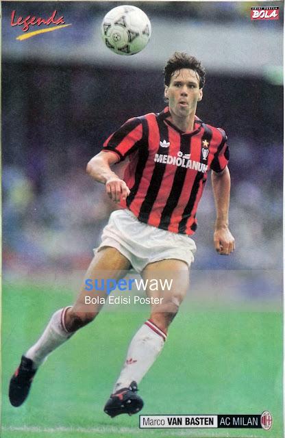 Poster Marco van Basten (AC Milan)