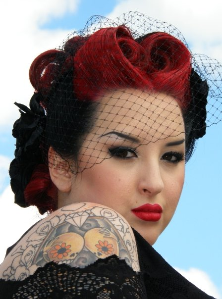 rockabilly hairstyles hairstyles. Black Bedroom Furniture Sets. Home Design Ideas