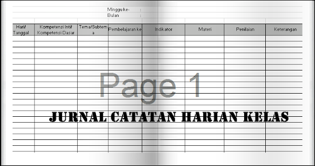 Download Aplikasi Jurnal Catatan Kelas Terbaru