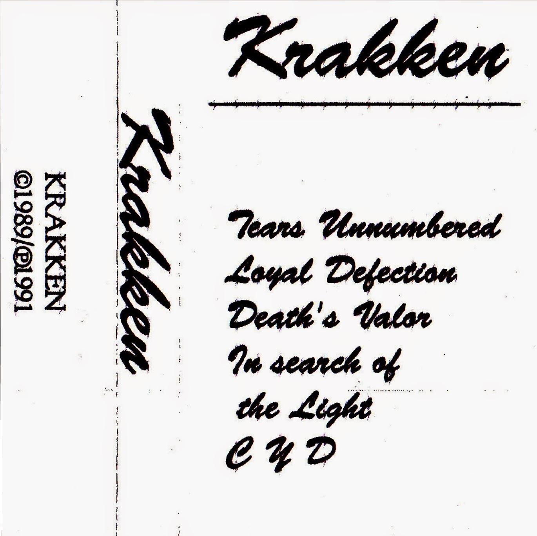 Boneyard Metal: 80's Metal: Krakken (USA) - Demo (1989) [Released 1991]