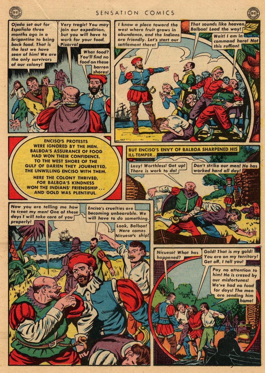 Read online Sensation (Mystery) Comics comic -  Issue #36 - 27