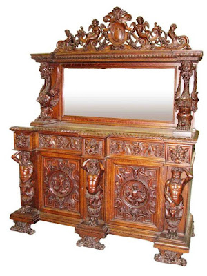 indonesia furniture,Interior Classic cabinet credenza