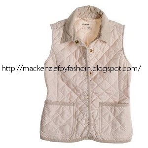6874954bb1 crewcuts for kids outerwear Girls  quilted vest.