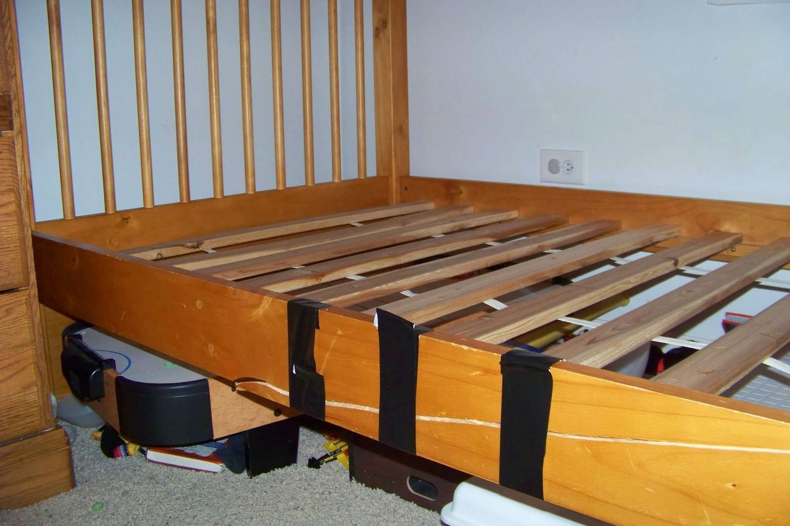 We Band of Mothers: The Broken Bed