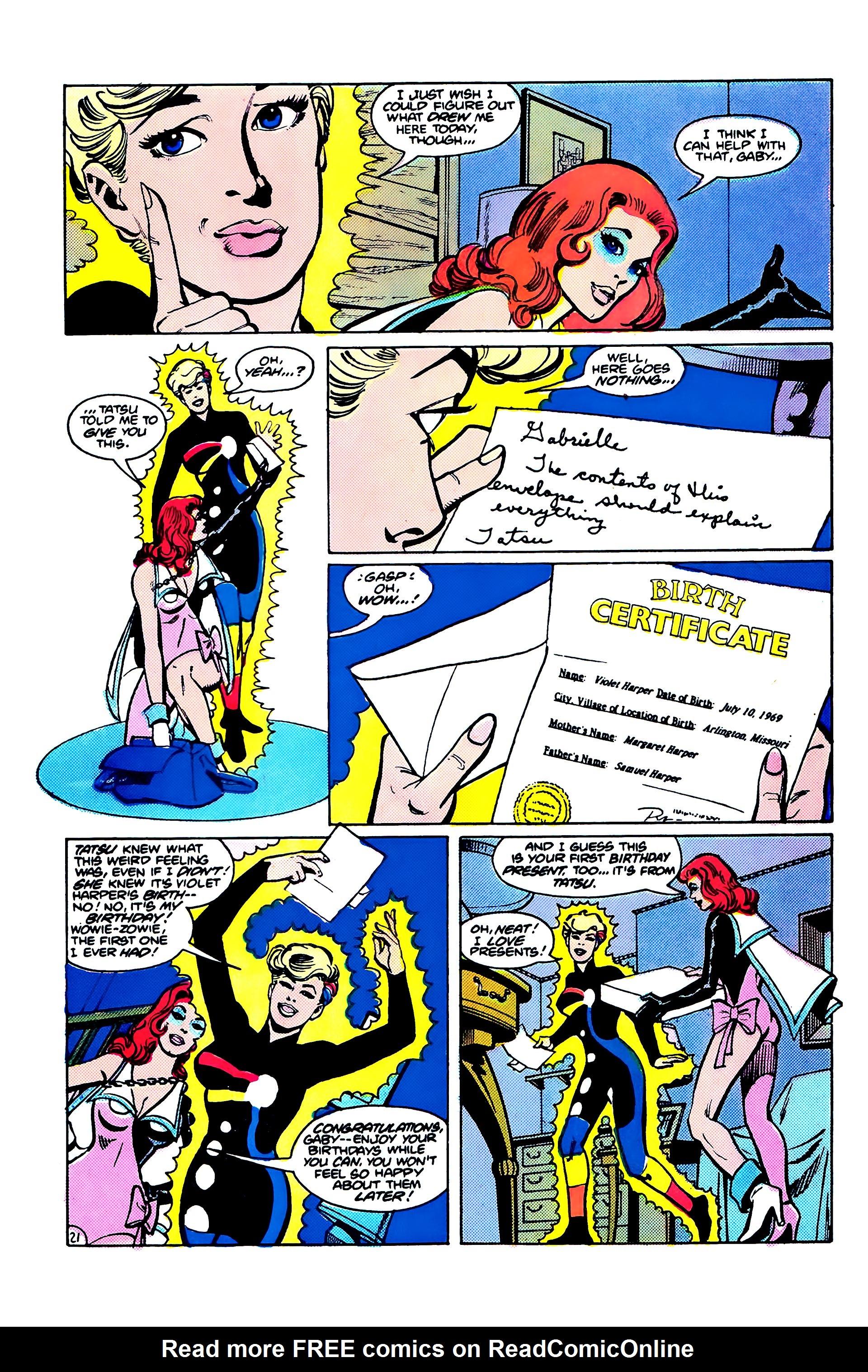 Read online Secret Origins (1986) comic -  Issue #6 - 47
