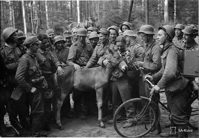 Finnish troops 2 July 1941 worldwartwo.filminspector.com