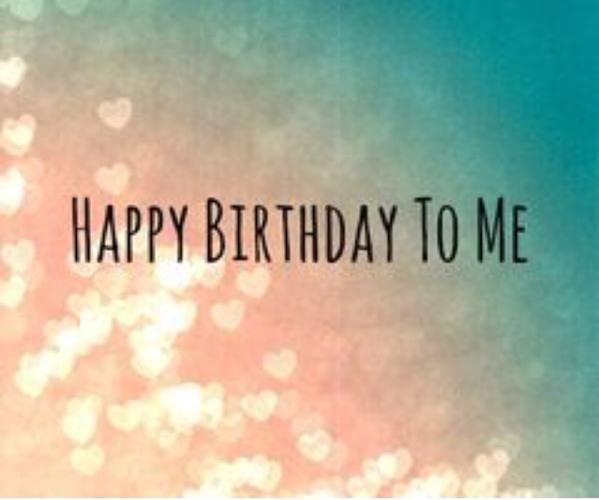 Thinking Pink: Happy Birthday To Me...