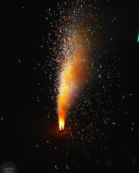 Indian wedding Fireworks