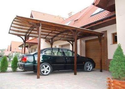Model Kanopi Rumah Minimalis Modern